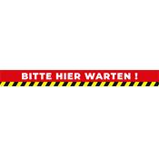 Fussboden Kleber: Bitte hier warten!