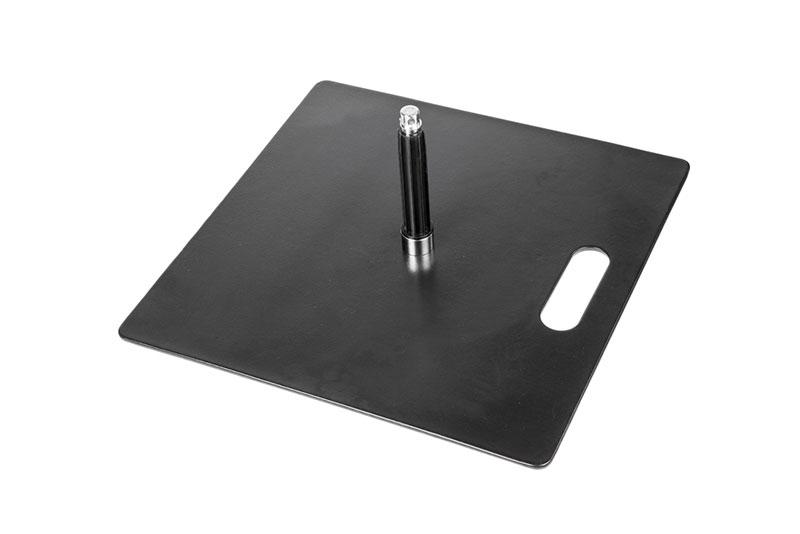 Stahlplatte (12kg) für Beachflags