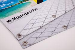 Blachen Voll-PVC und Netzblache