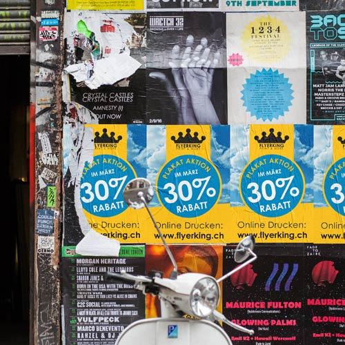 Plakate Drucken zum Aktionspreis